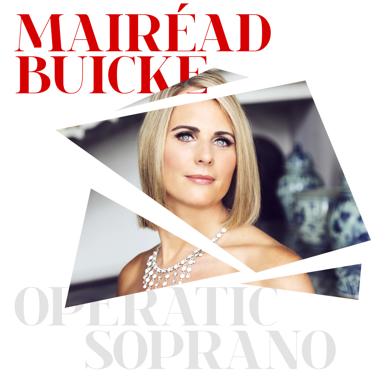 Mairéad Buicke Soprano – Photo by Frances Marshall, design by Marshall Light Studio